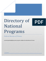 Directory of National Programs