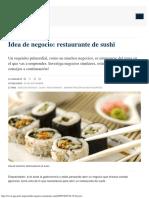 Idea de Negocio_ Restaurante de Sushi