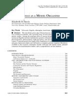 CHLAMYDOMONAS AS A MODEL ORGANISM