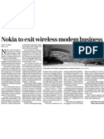Nokia Exit