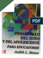 Desarrollo Del Niño y Adolescente J.meece. Pag. 127 a 143