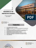 Formulación, Evaluación y Desarrollo de Proyectos Mineros Iimp