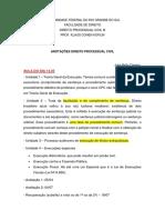 Anotações Processo Civil