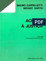 CAPPELLETTI, Mauro. Acesso a justiça.PDF