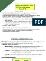 Clase 5 Adversidades Agrícolas HELADAS 2015-Parte 1.Pps