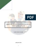 Texto Proyectos de Investigación en Ciencias de La Salud