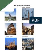 Ciudades Más Importantes de Europa