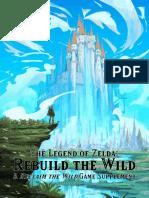 Zelda Rebuild the Wild