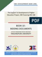 Book 10. Bidding Documents