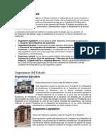 El estado de Guatemala y sus divisiones