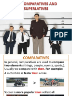 46) Comparatives and Superlatives