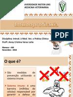 Aula - Imunoprofilaxia Cães