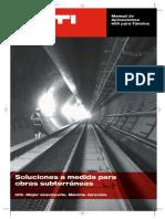 Manual de Aplicaciones Hilti para Túneles