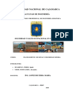 Cap Vi Seguridad y Salud Ocupacional en Mineria