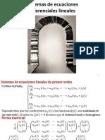 SistemasEDOs(Por Matrices) 2019-I