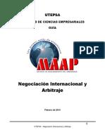 Guia Negociación Internacional y Arbitraje