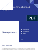 Components for Embedded Programs