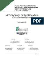 Final Methodology of Rectification