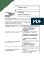 trabajo manual distribuidora lap