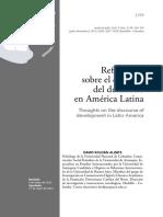 Reflexiones Sobre El Discurso Del Desarrollo En America