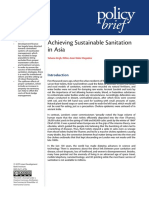 Achieving Sustainable Sanitation in Asia