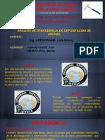 Analisis de Procedencia de Depositacion Arenas22
