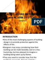 Lecture 3a - BUILDING UTILITIES 2 - Fire Detection and Alarm Systems