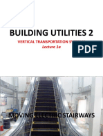 Lecture 1a BUILDING UTILITIES 2 Moving Electric Stairways