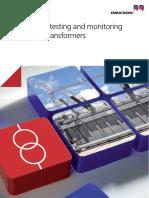 Power Transformer Testing Brochure ENU