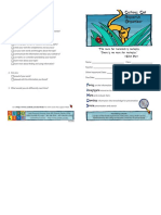Score Presentation Guidelines