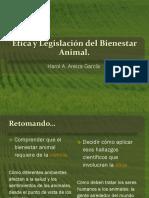 Ética y Legislación Del Bienestar Animal