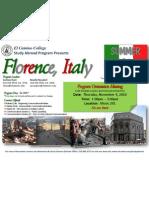 Florence Orientation)