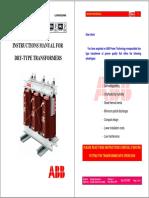 Instruction Manual - Dry Type Transformer-En-ABB