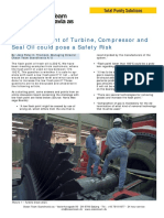 Safety Risk Turbine Compresor