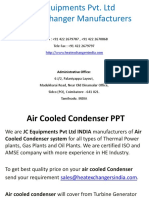 Air Cooled Condenser PPT