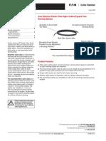 PG05E16TE - Plastic Fiber Optic Cables
