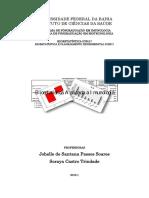 Ementa Bioestatística Ppgim-Biotec 2019