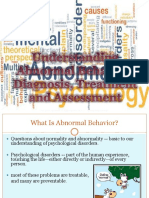 Chp 1 Overview to Understanding Abnormal Behavior 2017-18