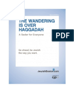The Wandering Is Over Haggadah Second Edition 2013.docx