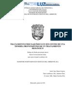 Tratamiento Fisico-quimico en Efluentes