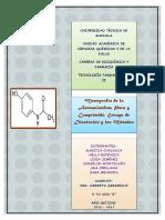 Monografìa de La Acetaminofeno y Calculo de Bufeer