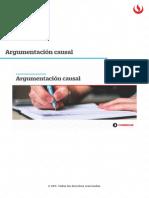UPC Argumentación Causal