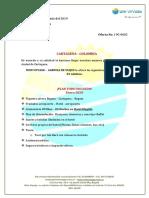 Propuesta de Viaje Cartagena 19c-0602 -- Mon Voyage Agencia de Viajes
