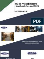 Manual de Procedimiento Almacen Cdm Equipos 2018 .1