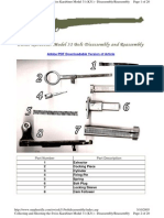 Swiss k31 Bolt Dis Assembly