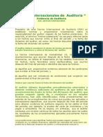 Auditoría - HECHOS POSTERIORES