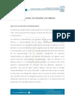 Documento_Los Derechos, Las Garantías y Los Deberes_VE22