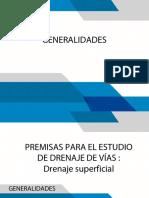 1.2 Generalidades Drenaje