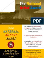 National Artists of The Philippines