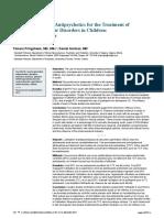 Second-Generation Antipsychotics for the Treatment Of